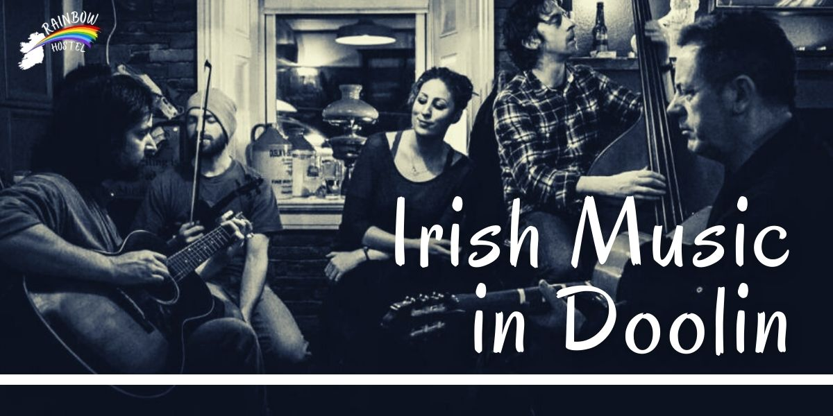 Irish Music in Doolin - Rainbow Hostel