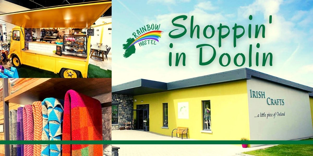 Shopping in Doolin - Rainbow Hostel