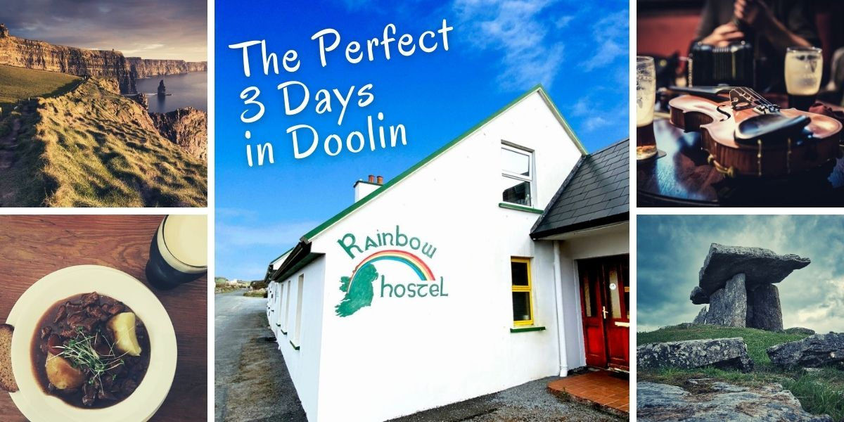 Perfect 3 Days in Doolin - Rainbow Hostel
