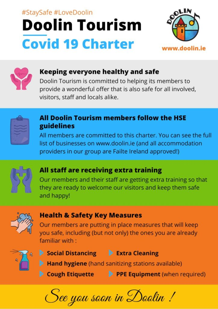 Doolin Tourism Covid 19 Safety Charter